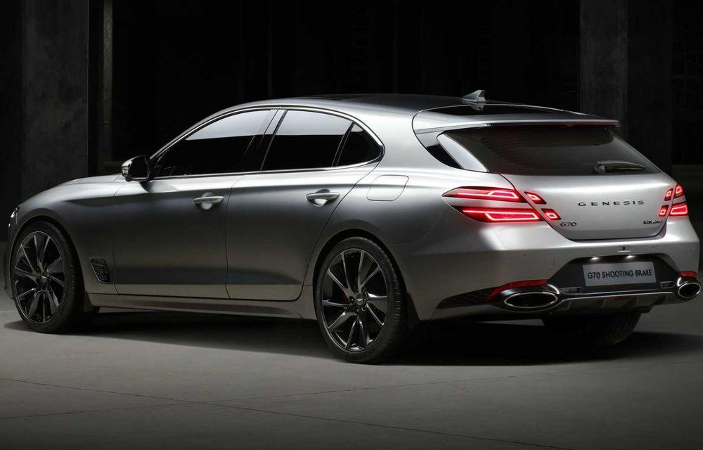 Genesis debarcă oficial în Europa cu un rival pentru Audi A4 Avant: noul G70 Shooting Brake - Poza 4