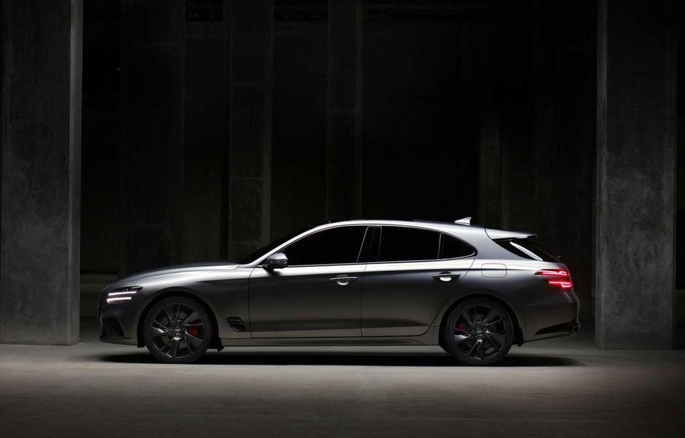 Genesis debarcă oficial în Europa cu un rival pentru Audi A4 Avant: noul G70 Shooting Brake - Poza 2