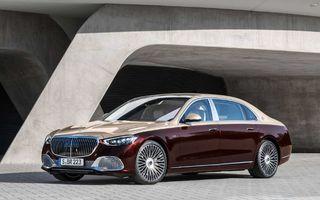 Noul Mercedes-Maybach Clasa S nu se predă: a primit și un motor V12