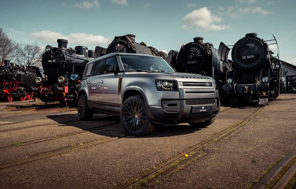 Accesorii ciudate pentru Land Rover Defender: bucăți de caroserie cu aspect ruginit - Poza 2