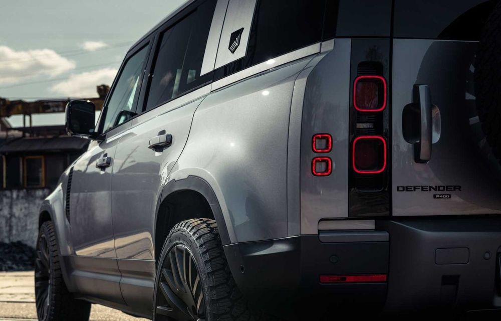 Accesorii ciudate pentru Land Rover Defender: bucăți de caroserie cu aspect ruginit - Poza 5