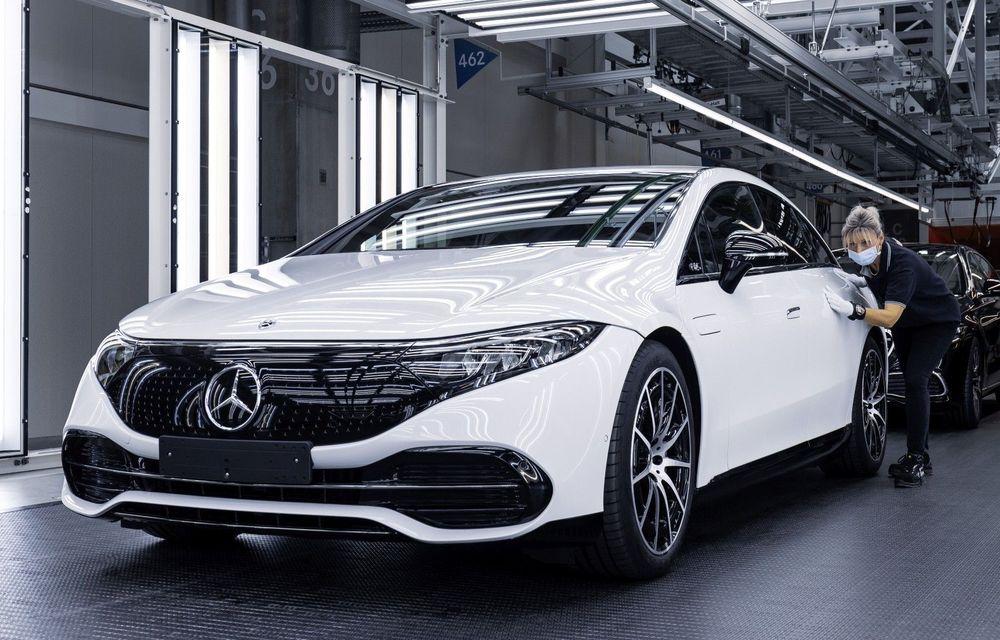 Mercedes a început producția sedanului electric EQS la Sindelfingen - Poza 1