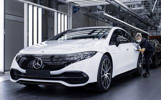 Mercedes a început producția sedanului electric EQS la Sindelfingen