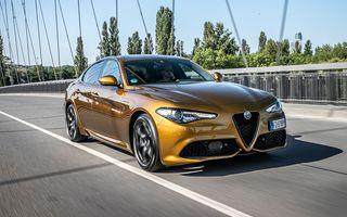 Alfa Romeo Giulia va primi, până la finalul anului, cel mai important facelift din carieră