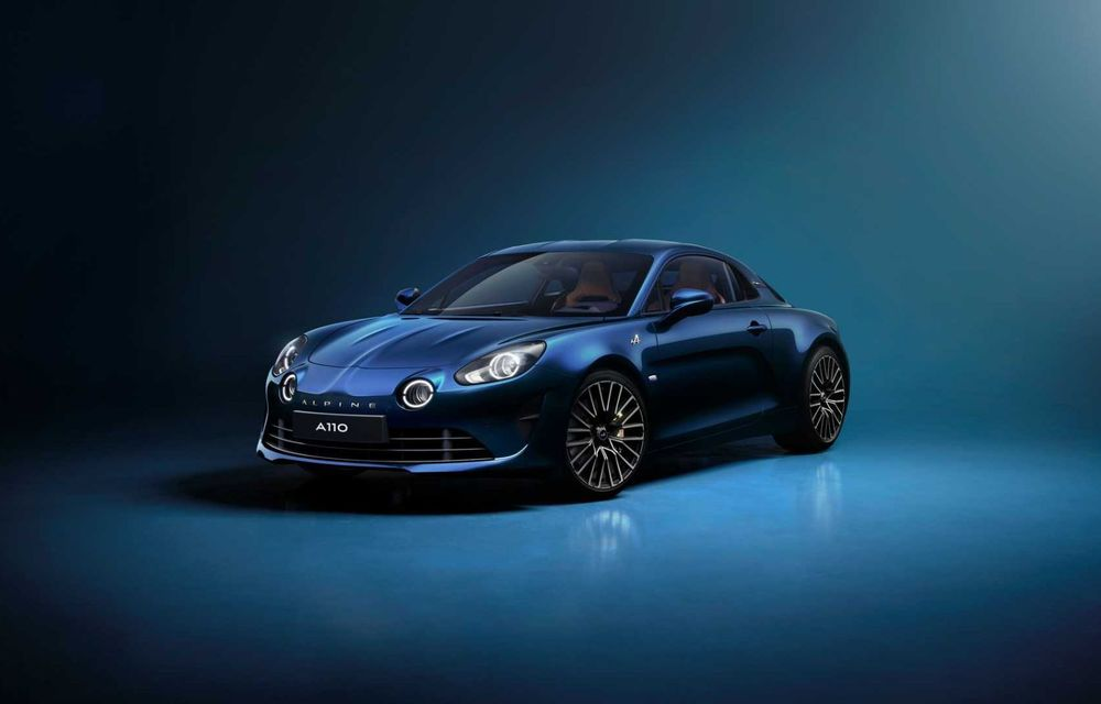 Ediția specială Alpine A110 Legende GT revine în 2021 cu 292 CP și producție limitată la 300 de exemplare - Poza 1