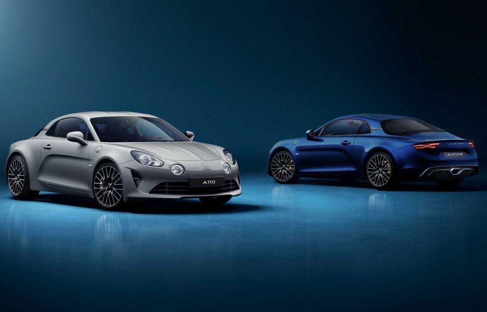 Ediția specială Alpine A110 Legende GT revine în 2021 cu 292 CP și producție limitată la 300 de exemplare - Poza 2