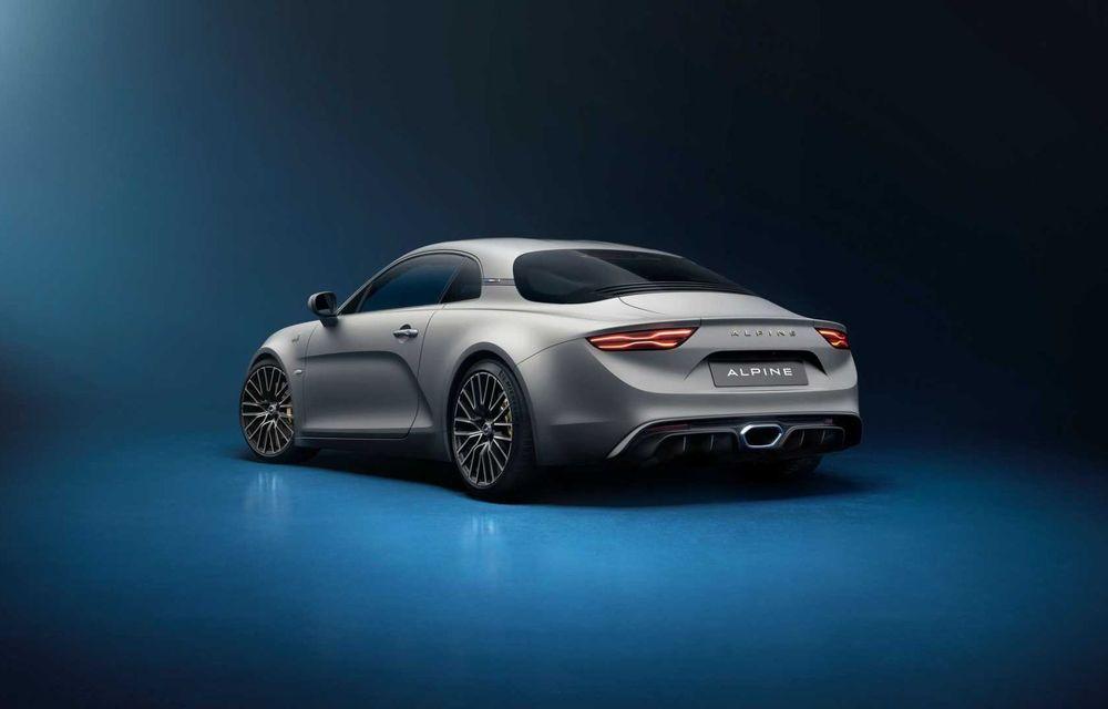 Ediția specială Alpine A110 Legende GT revine în 2021 cu 292 CP și producție limitată la 300 de exemplare - Poza 3