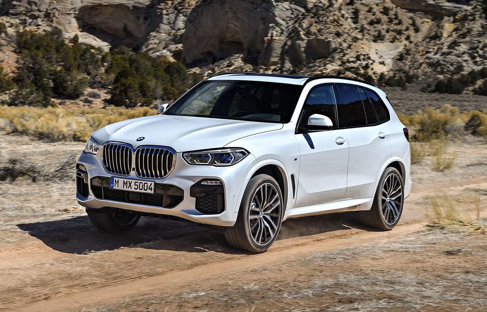 BMW vrea să lanseze anul viitor un X5 propulsat cu hidrogen - Poza 1