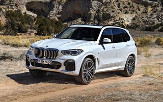 BMW vrea să lanseze anul viitor un X5 propulsat cu hidrogen