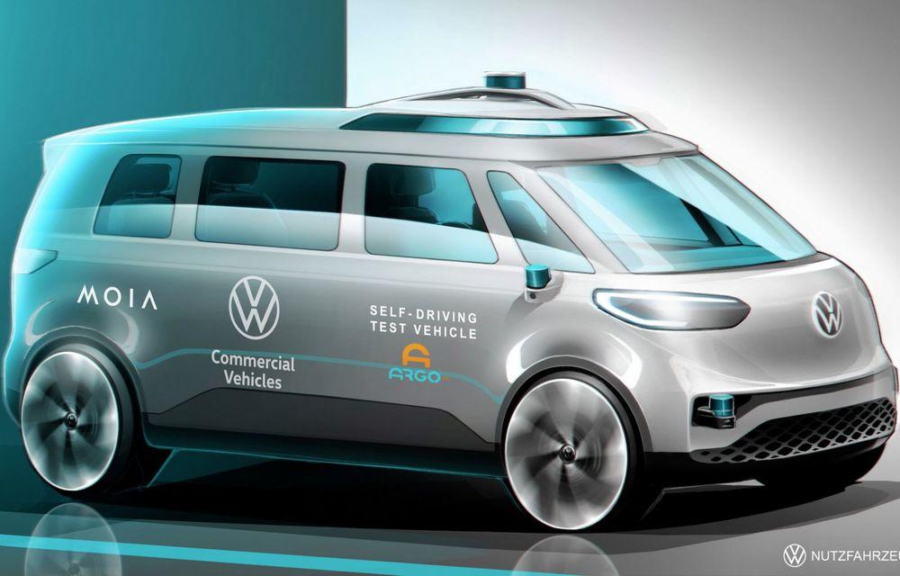 Volkswagen va începe testarea unui ID.Buzz autonom pe străzile din Hamburg - Poza 1