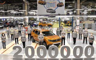 Dacia a produs exemplarul Duster cu numărul 2.000.000 la Mioveni