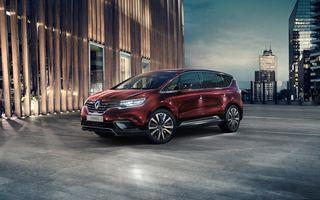 Renault pensionează actualele Scenic și Espace, dar denumirile vor fi folosite pentru alte modele