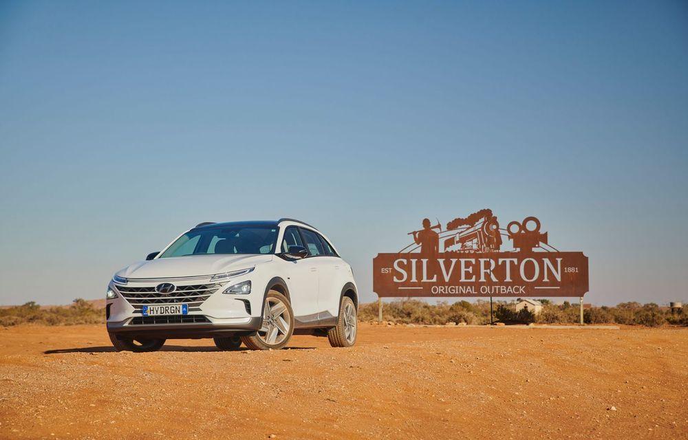 Record mondial: Hyundai Nexo a parcurs 887 de kilometri cu un singur plin de hidrogen - Poza 5