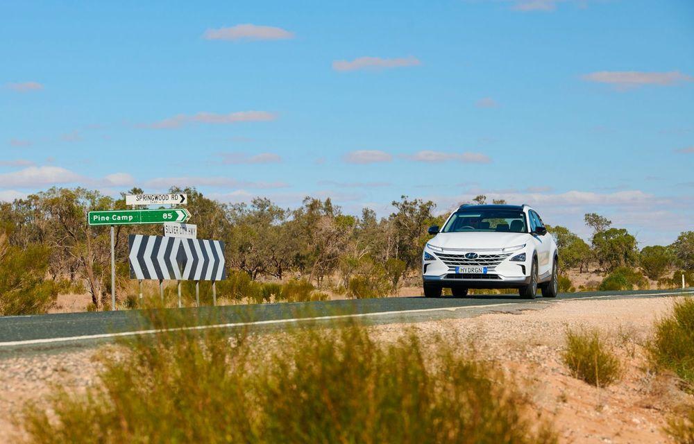 Record mondial: Hyundai Nexo a parcurs 887 de kilometri cu un singur plin de hidrogen - Poza 3