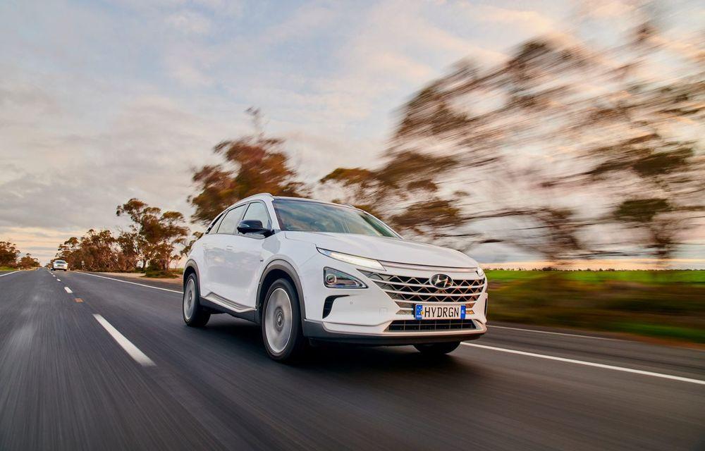 Record mondial: Hyundai Nexo a parcurs 887 de kilometri cu un singur plin de hidrogen - Poza 1