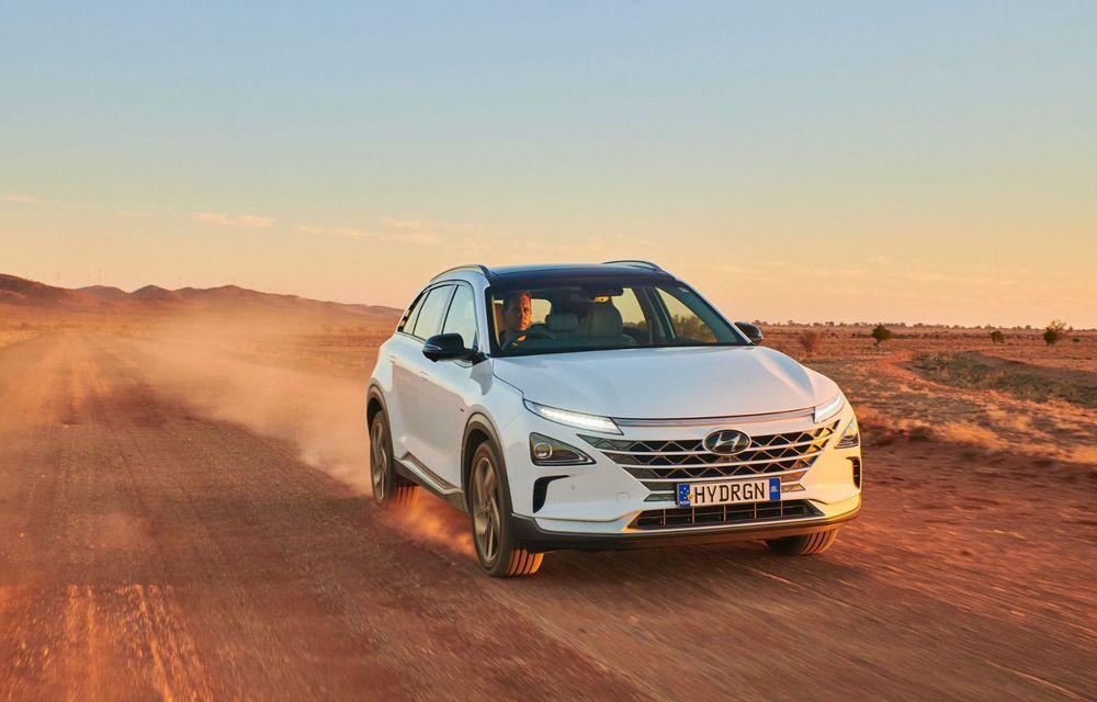 Record mondial: Hyundai Nexo a parcurs 887 de kilometri cu un singur plin de hidrogen - Poza 2