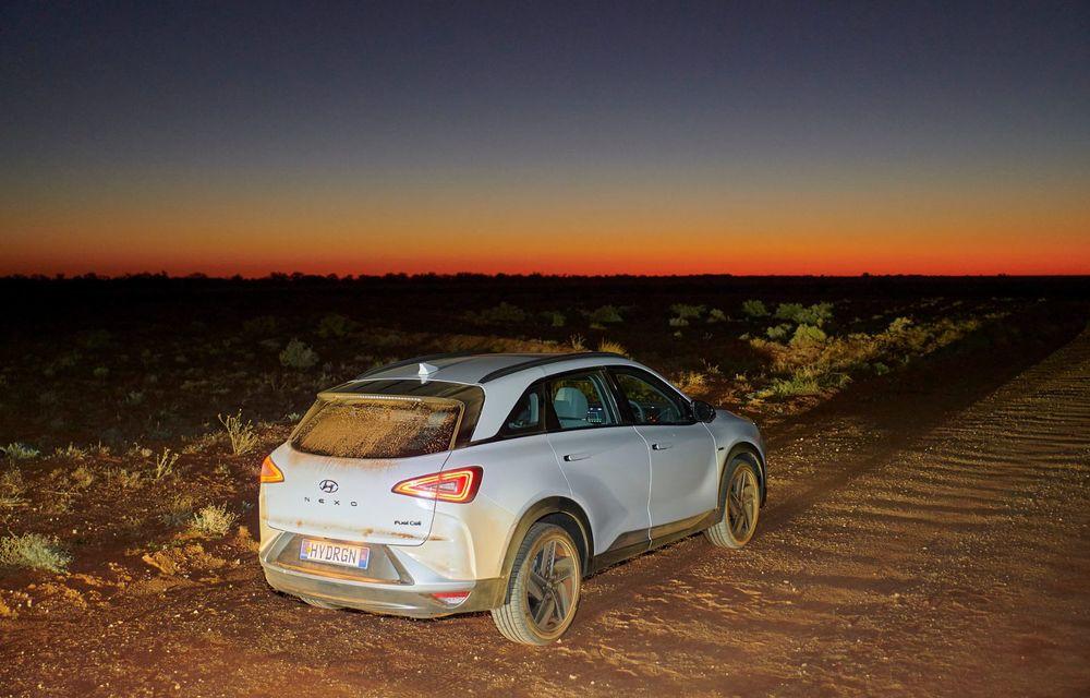 Record mondial: Hyundai Nexo a parcurs 887 de kilometri cu un singur plin de hidrogen - Poza 7