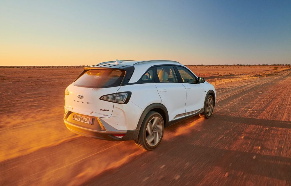 Record mondial: Hyundai Nexo a parcurs 887 de kilometri cu un singur plin de hidrogen - Poza 4