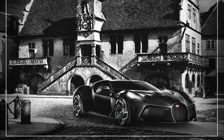 Versiunea finalizată a unicului Bugatti La Voiture Noire ar putea fi prezentată în 31 mai