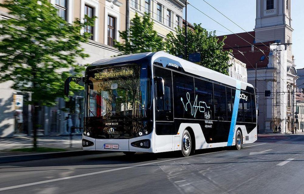 ATP Bus e-UpCity, primul autobuz electric românesc, a fost lansat oficial pe piață - Poza 1