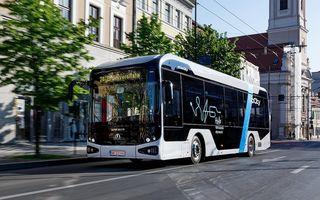 ATP Bus e-UpCity, primul autobuz electric românesc, a fost lansat oficial pe piață
