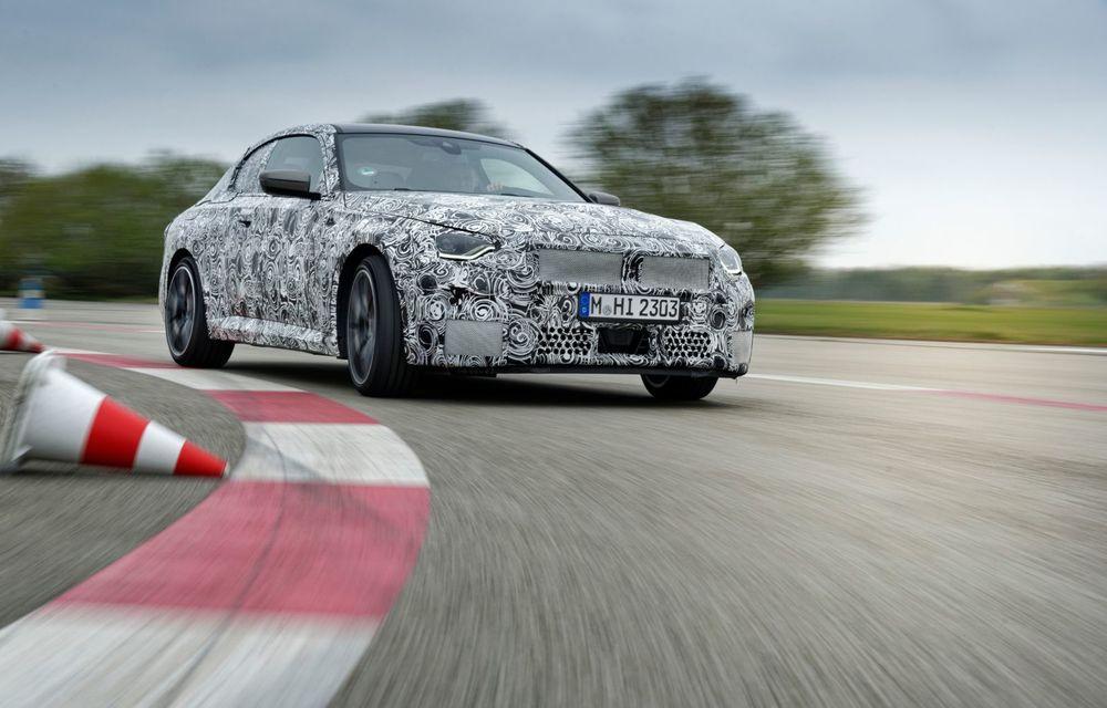 Noua generație BMW Seria 2 Coupe încheie testele și reglajele dinamice. Producția începe la finalul verii - Poza 2