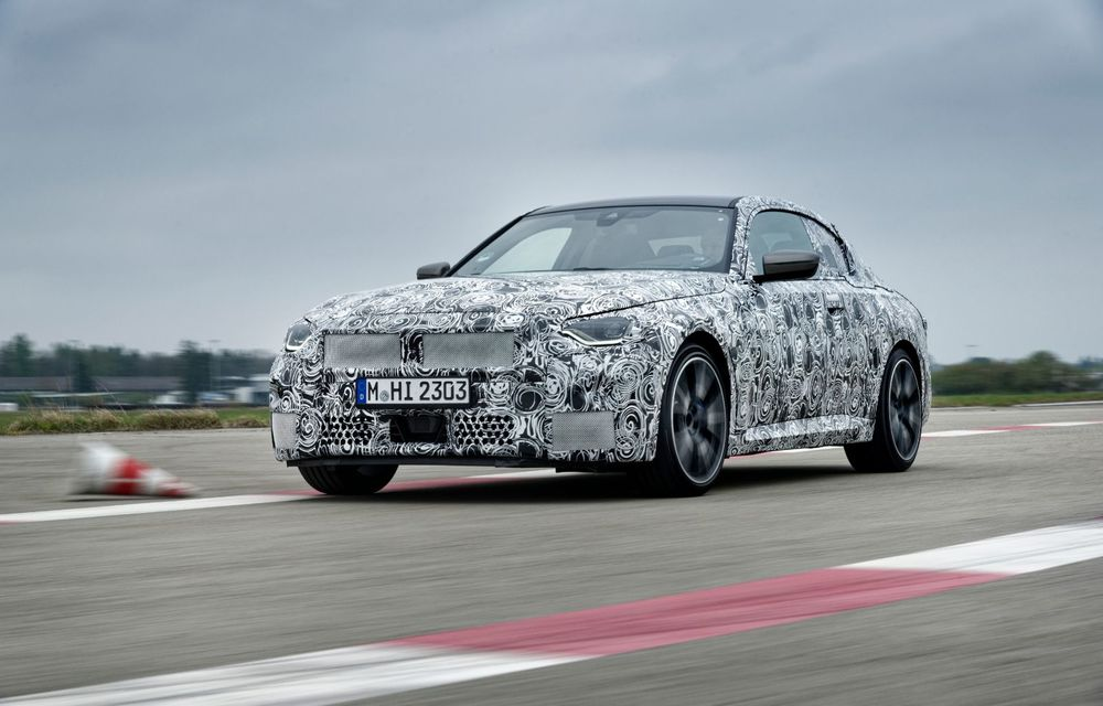 Noua generație BMW Seria 2 Coupe încheie testele și reglajele dinamice. Producția începe la finalul verii - Poza 3