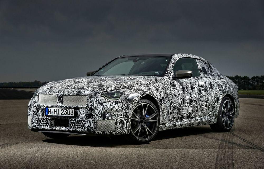 Noua generație BMW Seria 2 Coupe încheie testele și reglajele dinamice. Producția începe la finalul verii - Poza 1