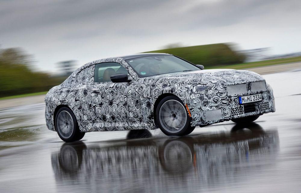 Noua generație BMW Seria 2 Coupe încheie testele și reglajele dinamice. Producția începe la finalul verii - Poza 5