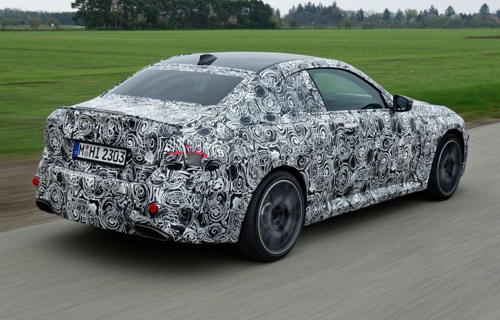 Noua generație BMW Seria 2 Coupe încheie testele și reglajele dinamice. Producția începe la finalul verii - Poza 12
