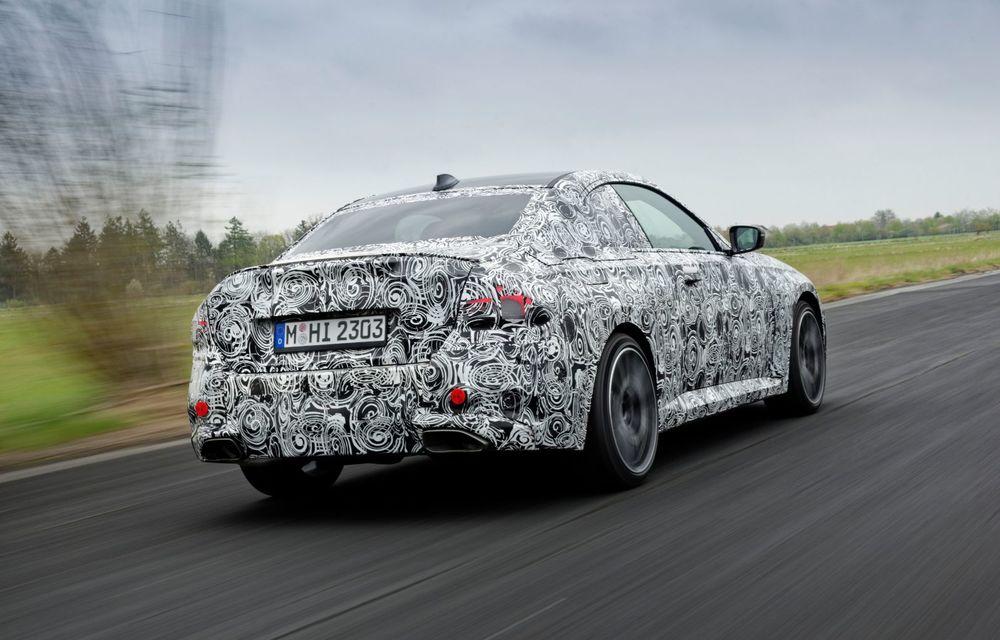 Noua generație BMW Seria 2 Coupe încheie testele și reglajele dinamice. Producția începe la finalul verii - Poza 13