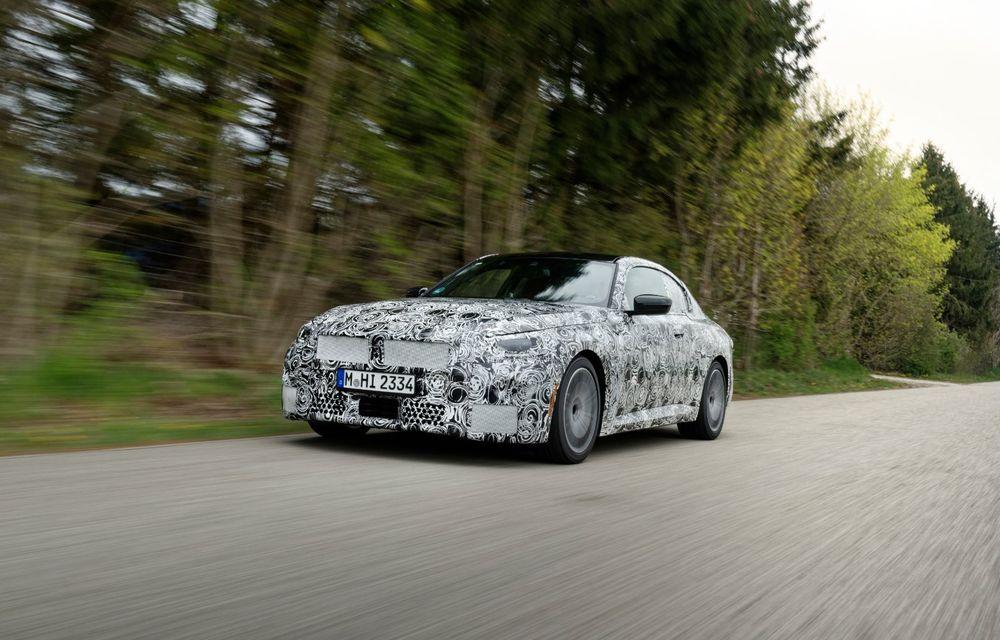 Noua generație BMW Seria 2 Coupe încheie testele și reglajele dinamice. Producția începe la finalul verii - Poza 7