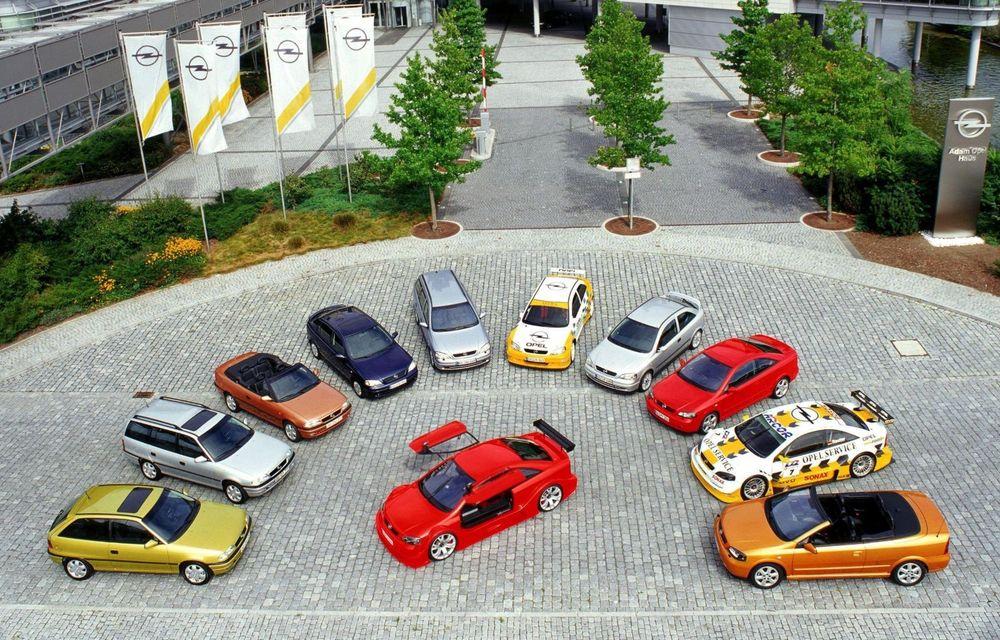 Opel Astra la aniversare: modelul compact împlinește 30 de ani de la debut - Poza 3