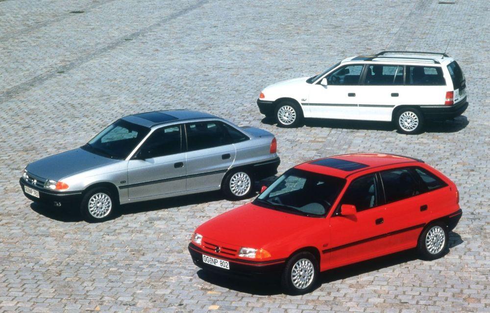 Opel Astra la aniversare: modelul compact împlinește 30 de ani de la debut - Poza 2