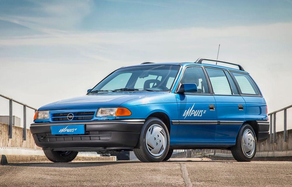 Opel Astra la aniversare: modelul compact împlinește 30 de ani de la debut - Poza 4