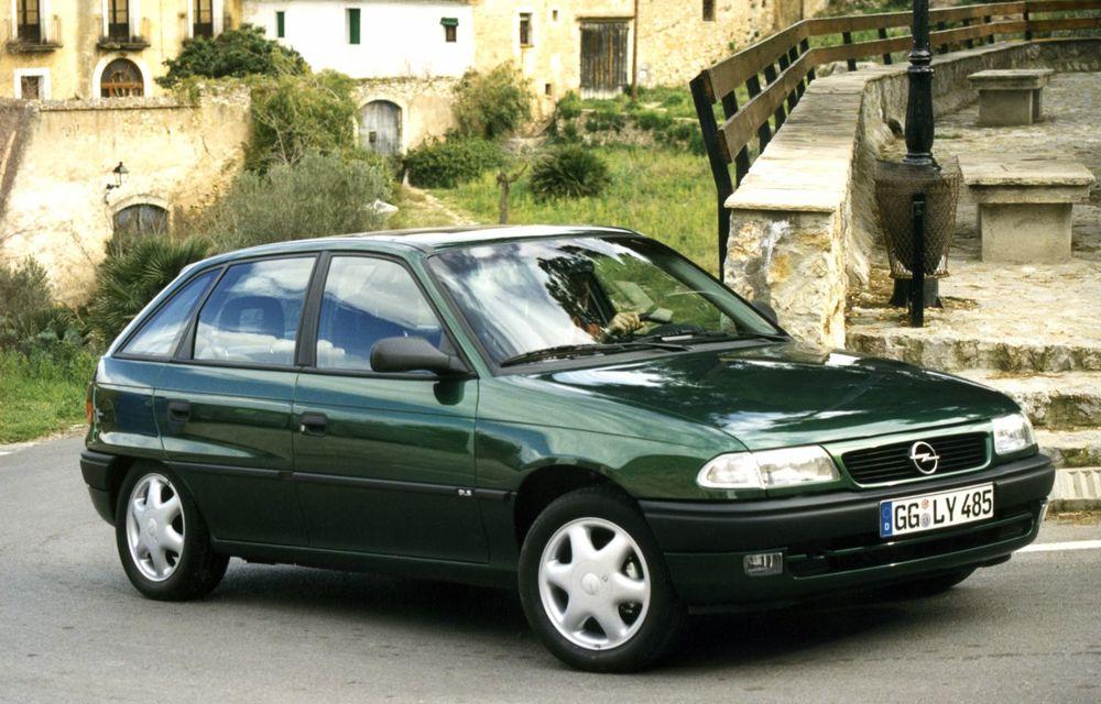 Opel Astra la aniversare: modelul compact împlinește 30 de ani de la debut - Poza 1