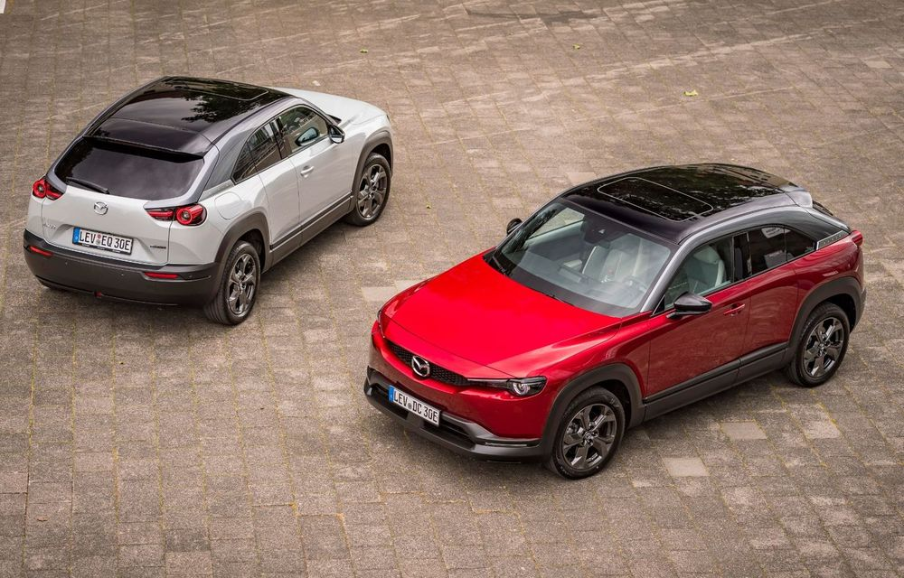 Parteneriat Mazda-Engie în România: Cumperi un exemplar MX-30 și primești o stație de încărcare cadou - Poza 1