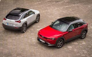 Parteneriat Mazda-Engie: Cumperi un exemplar MX-30 și primești o stație de încărcare cadou