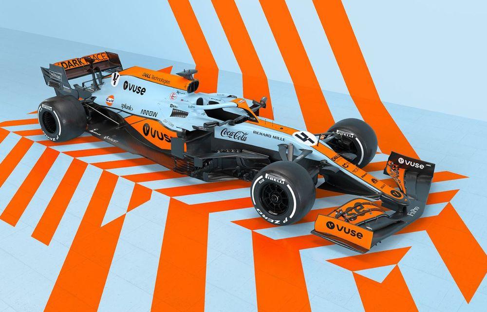 Monoposturile McLaren vor avea o grafică specială pentru Marele Premiu de Formula 1 al Principatului Monaco - Poza 1