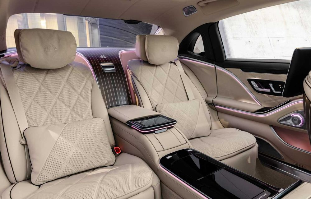 OFICIAL: Mercedes-Maybach S680 debutează cu motor V12, 612 CP și 217.000 de euro preț de pornire - Poza 8