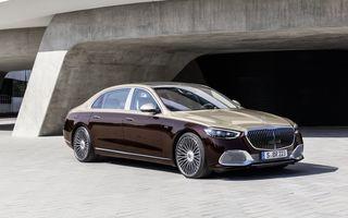 OFICIAL: Mercedes-Maybach S680 debutează cu motor V12, 612 CP și 217.000 de euro preț de pornire