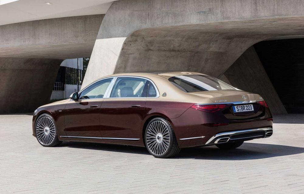 OFICIAL: Mercedes-Maybach S680 debutează cu motor V12, 612 CP și 217.000 de euro preț de pornire - Poza 5