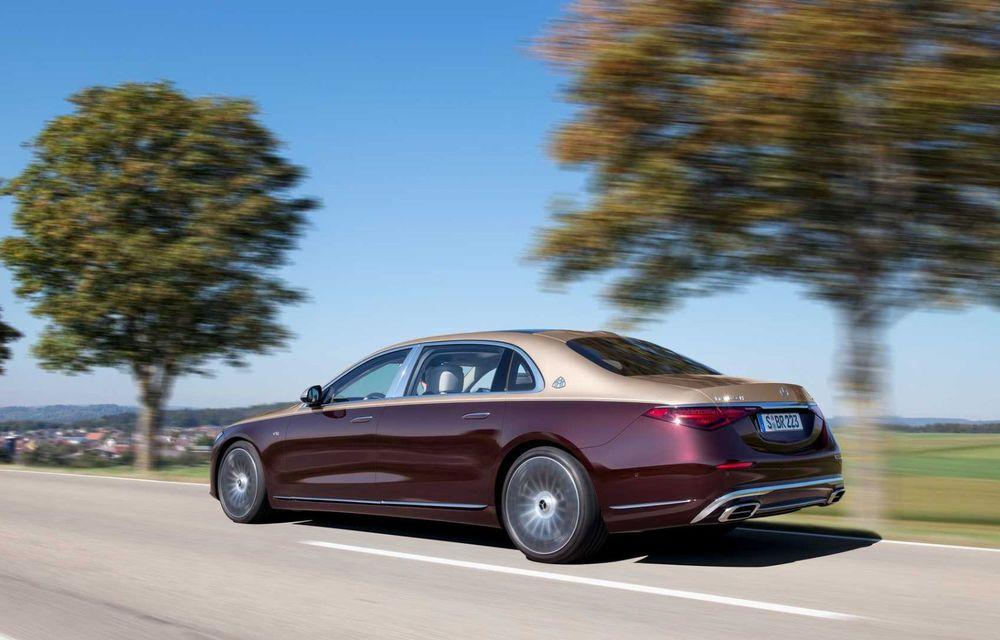 OFICIAL: Mercedes-Maybach S680 debutează cu motor V12, 612 CP și 217.000 de euro preț de pornire - Poza 3
