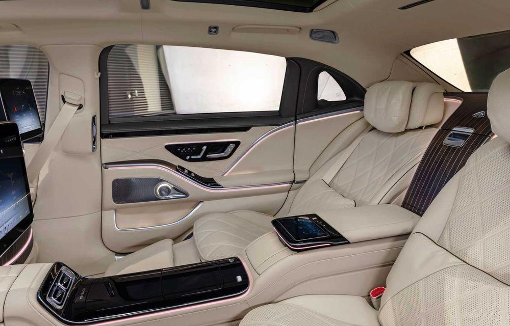 OFICIAL: Mercedes-Maybach S680 debutează cu motor V12, 612 CP și 217.000 de euro preț de pornire - Poza 9