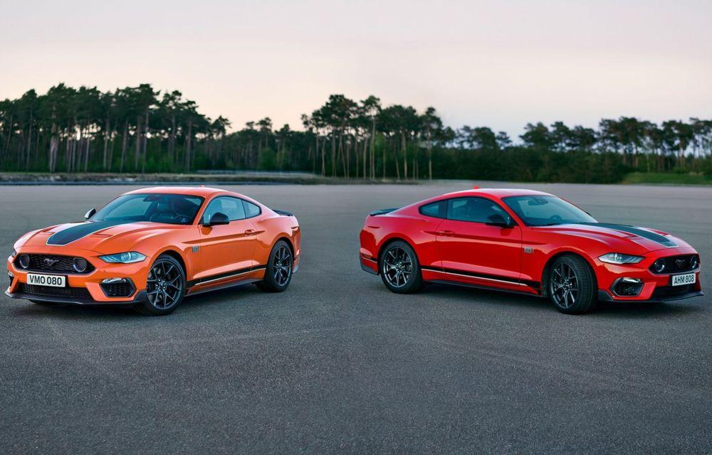 Ford a demarat livrările noului Mustang Mach 1 în Europa. La noi în țară pornește de la 59.000 de euro - Poza 3