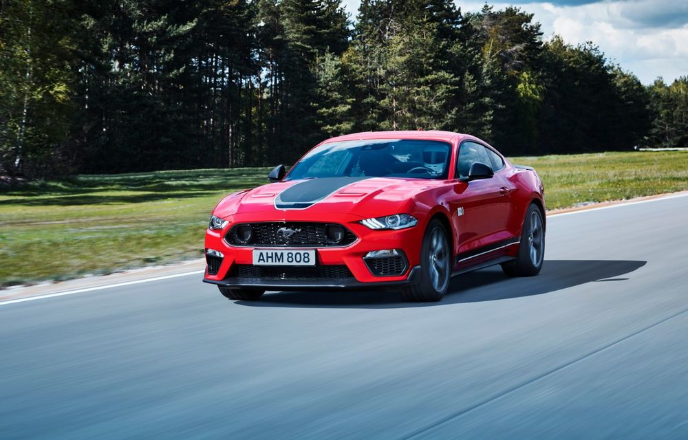 Ford a demarat livrările noului Mustang Mach 1 în Europa. La noi în țară pornește de la 59.000 de euro - Poza 1