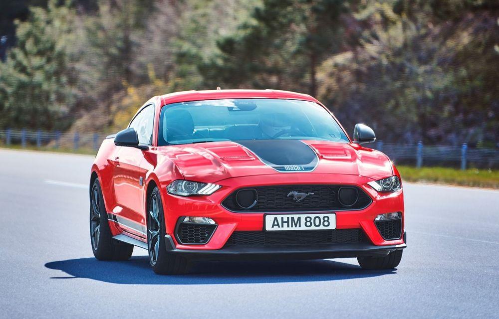 Ford a demarat livrările noului Mustang Mach 1 în Europa. La noi în țară pornește de la 59.000 de euro - Poza 4
