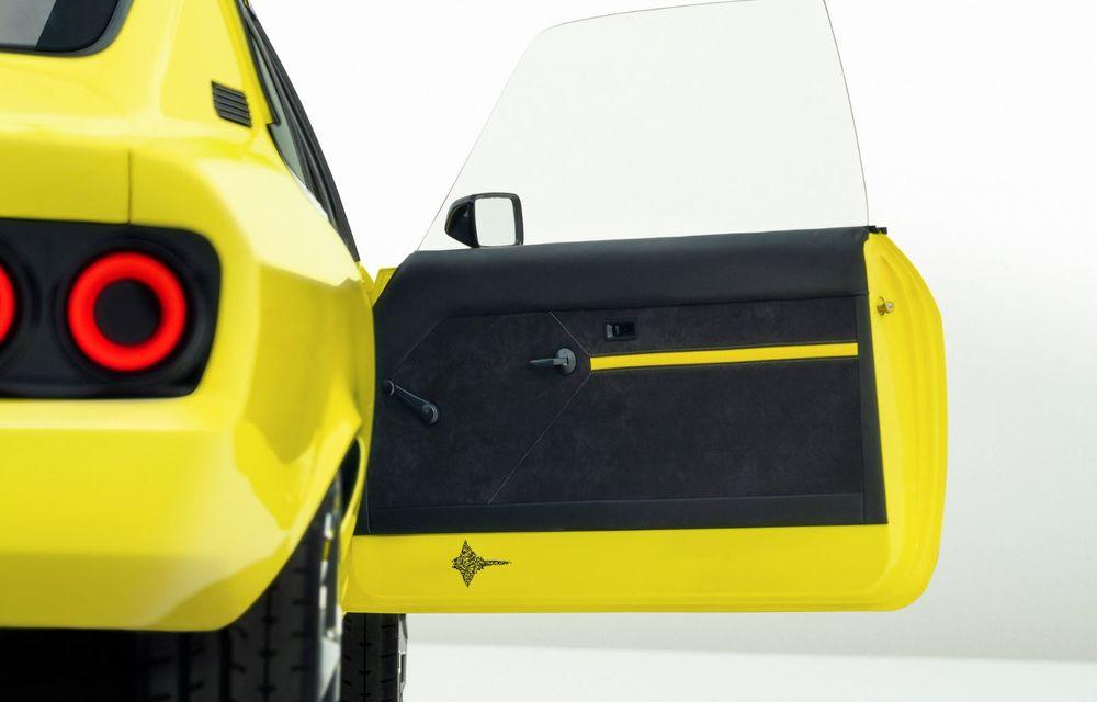 Opel Manta GSe ElektroMod: concept electric cu design retro, 200 km autonomie și transmisie manuală - Poza 12