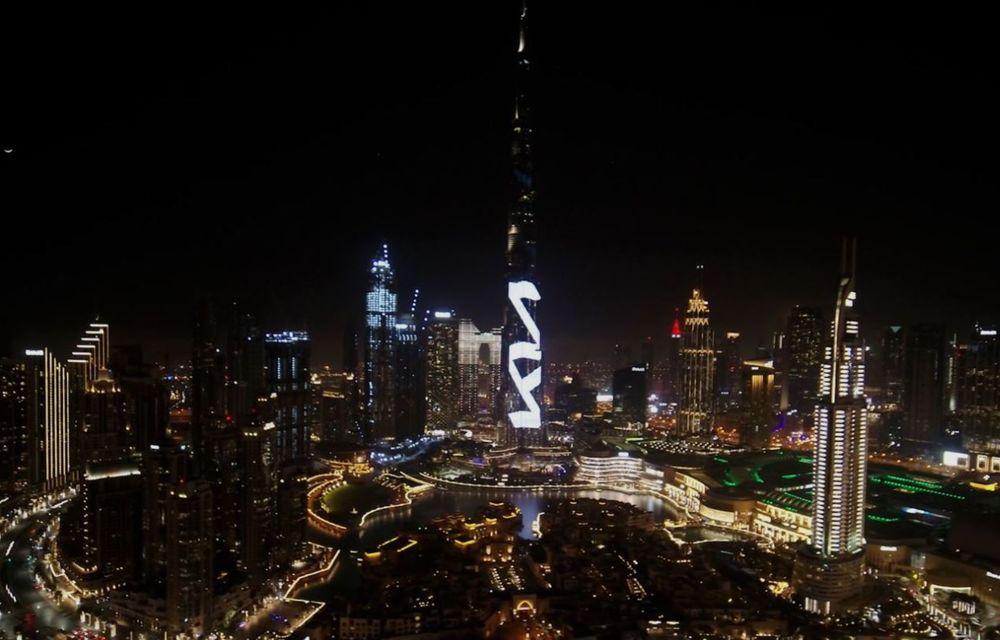 Kia își promovează noul logo în Orientul Mijlociu cu o proiecție LED pe Burj Khalifa - Poza 1