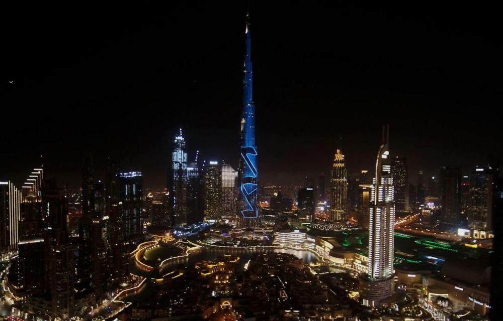 Kia își promovează noul logo în Orientul Mijlociu cu o proiecție LED pe Burj Khalifa - Poza 2